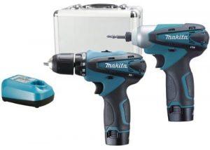 Makita 10.8 volt Combi Drill and Impact Driver 1